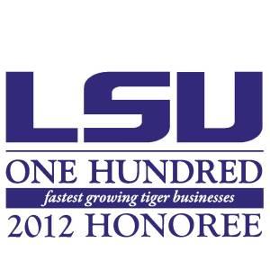 2012 LSU 100 Logo