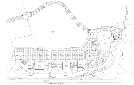 Fremaux Town Center Site Plan