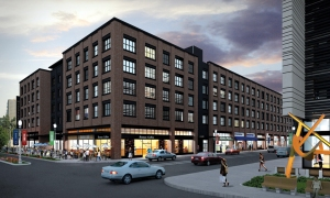 South Market District - Rendering