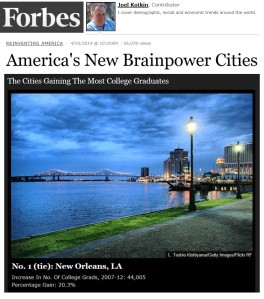 Forbes - Brainpower Cities