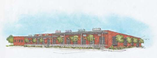 Offices at Mid-City Market Rendering