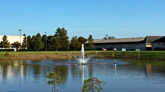Ambassador Town Center Fountain