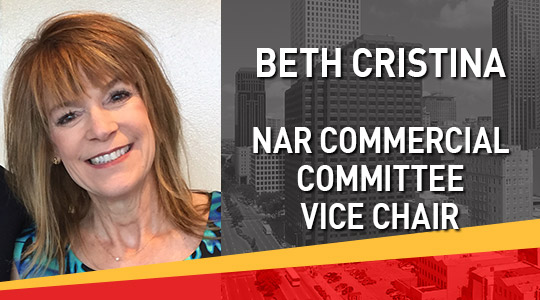 Beth Cristina NAR Commercial Committee Vice Chair