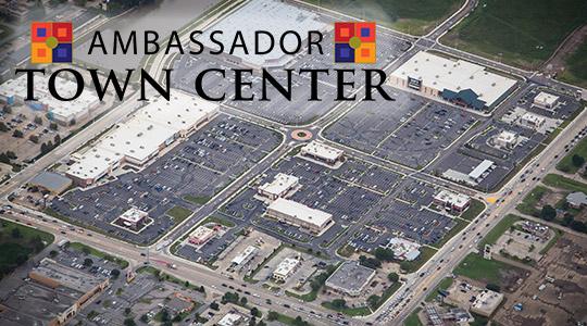 Ambassador Town Center 100% Leased