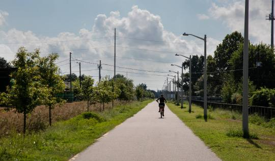 Lafitte Greenway Bike Path