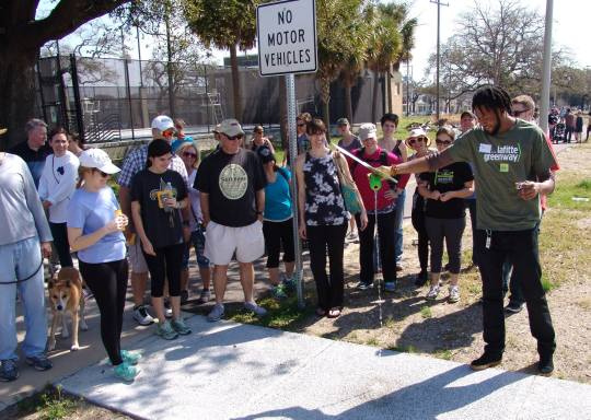 Lafitte Greenway Walking Workshop